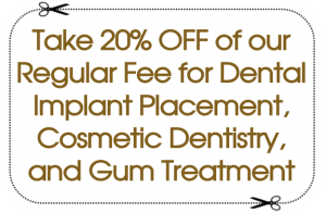 20% Off Dental Implant Placement, Cosmetic Dentistry, Gum Treatment | Elmhurst, NY Dentist